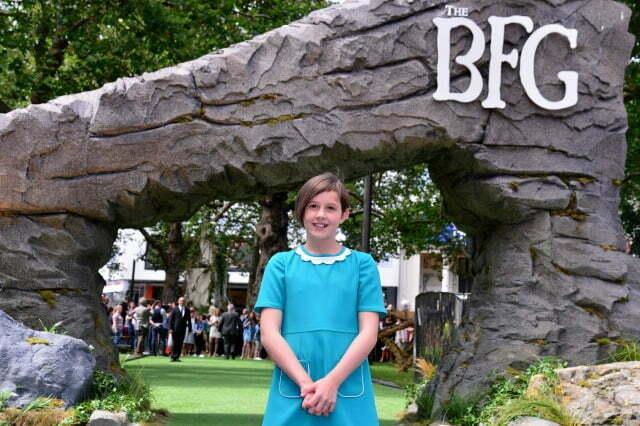 The BFG Ruby Barnhill