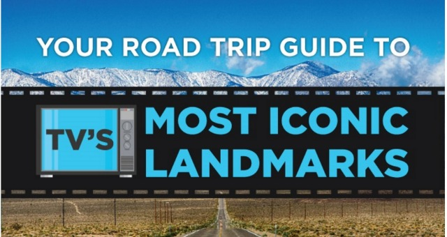 Your Road Trip Guide To TV's Most Iconic Landmarks