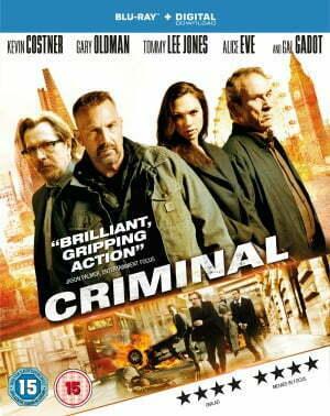 Criminal Blu-ray