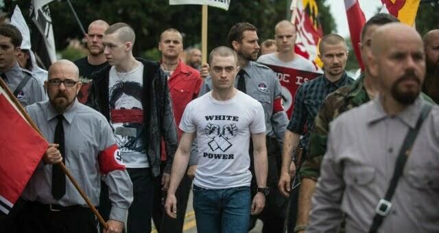 Daniel Radcliffe Attends 'Neo-Nazi' Rally In New Imperium Clip