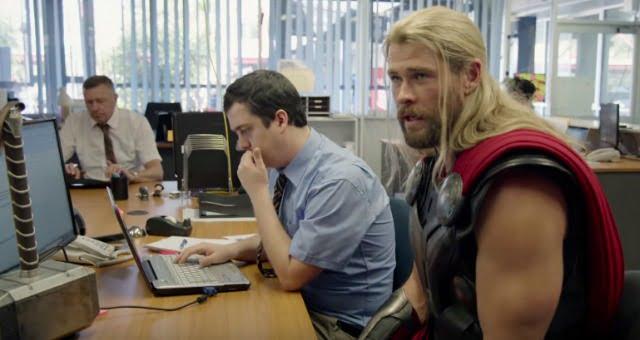 Go Team Thor! Watch Funny Thor Mockumentary