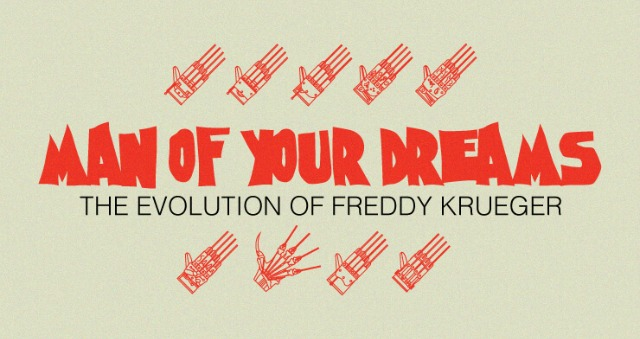 Man of Your Dreams: Evolution of Freddy Krueger [Infographic]