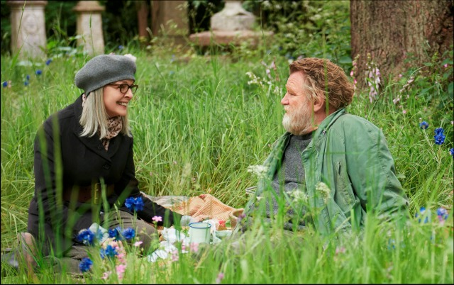 First Look At Hampstead Starring Diane Keaton, Brendan Gleeson