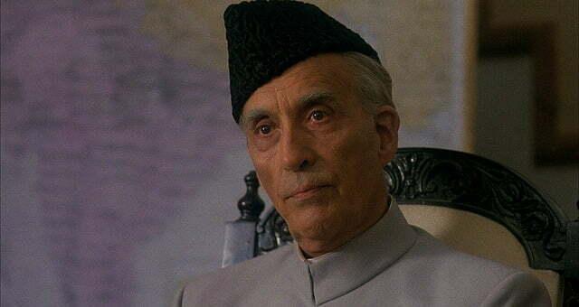 Win Jinnah Starring Christopher Lee On Blu-ray