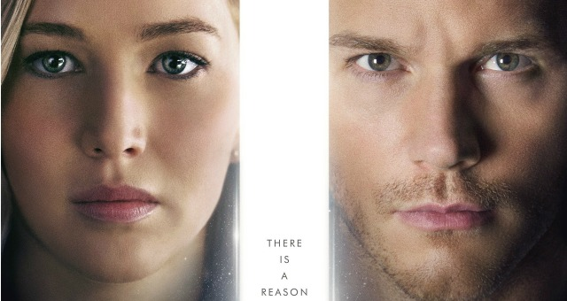 New Passengers Poster Give Starlord And Katniss A Reason To Wake Up