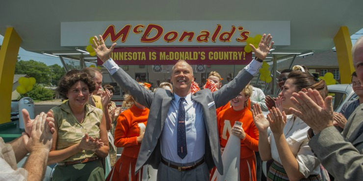 Win The Founder Starring Michael Keaton On Blu-ray