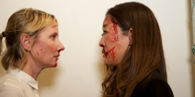 Get Ready To Rumble In Catfight UK Trailer Starring Sandra Oh, Anne Heche