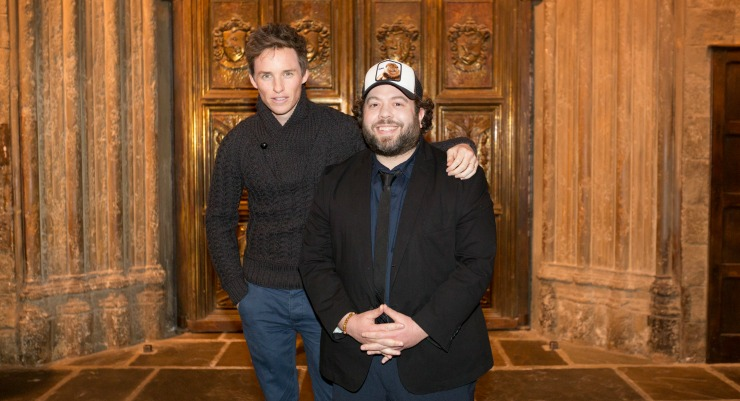 Eddie Redmayne And Dan Fogler Surprise Fans At Harry Potter Tour