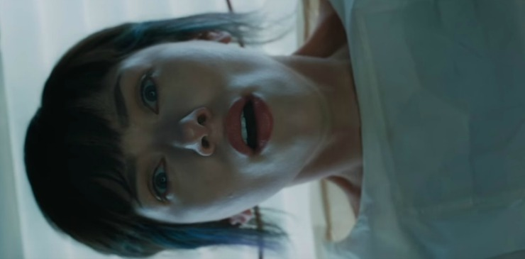 In The First Ghost In The Shell Clip, The Major 'Wakes Up'