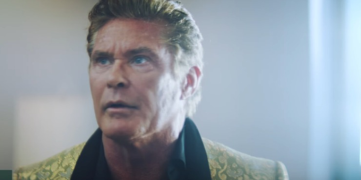 The Hoff Stars In The Ai Scripted 'It's No Game' Short Movie