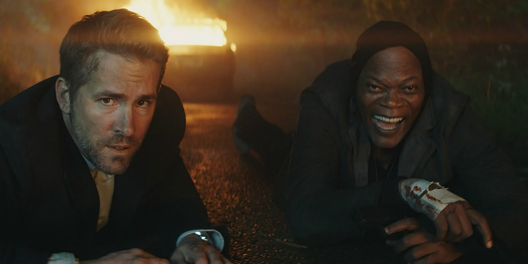 The Hitman's Bodyguard UK Trailer Ryan Reynolds Protects A 'Motherf*cker'