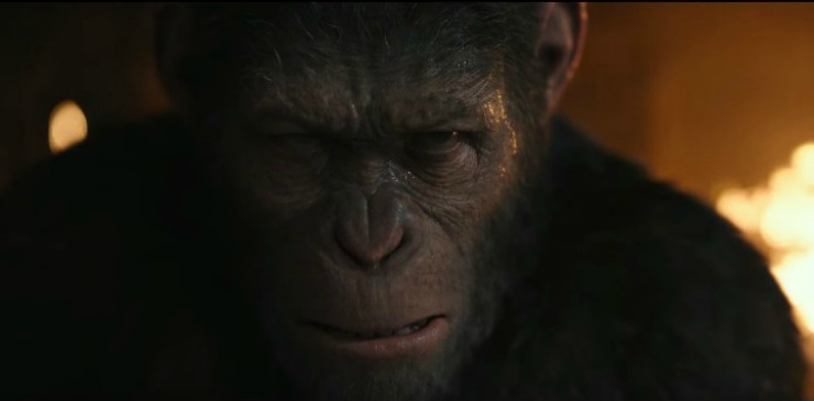 Caesar's Last Stand In New War For The Planet Of The Apes Trailer