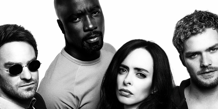 Marvel's Defenders Stand Strong In New Netflix Artwork