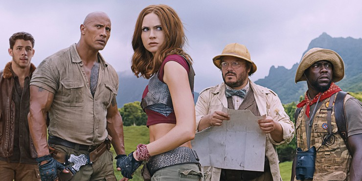 The Game Has Evolved In First Jumanji: Welcome To The Jungle Trailer