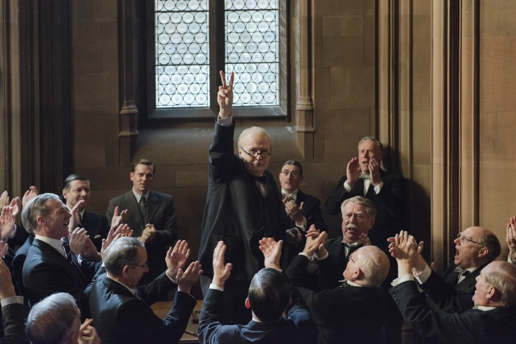 First Image For Darkest Hour Gary Oldman As Winston Churchill