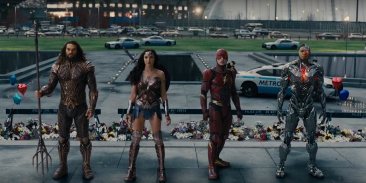 Justice League New Trailer Centres On Wonder Woman, Teases Mysterious Superhero