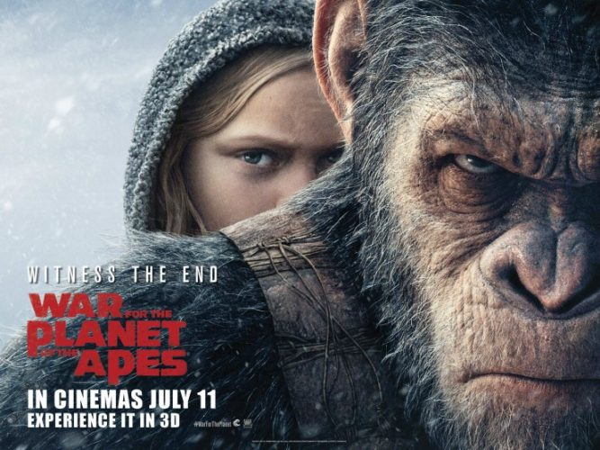 WIN 'PLANET OF THE APES' BOOK BUNDLE WITH  WAR FOR THE PLANET OF THE APES