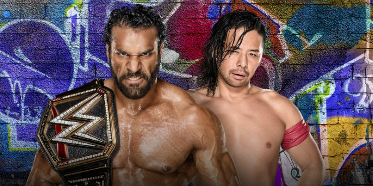 Shinsuke Nakamura VS Jinder Mahal At WWE Summerslam