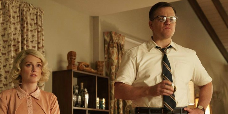 In George Clooney's Surburbicon UK Trailer Matt Damon's Life Falls Apart