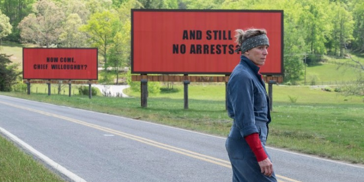 BFI Announce Three Billboards Outside Ebbing, Missouri,  To Close BFI London Film Festival