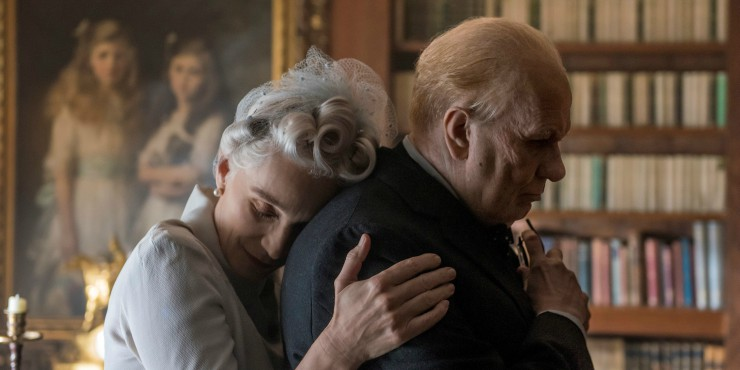 New Darkest Hour Trailer Gary Oldman Faces His Biggest Onslaught