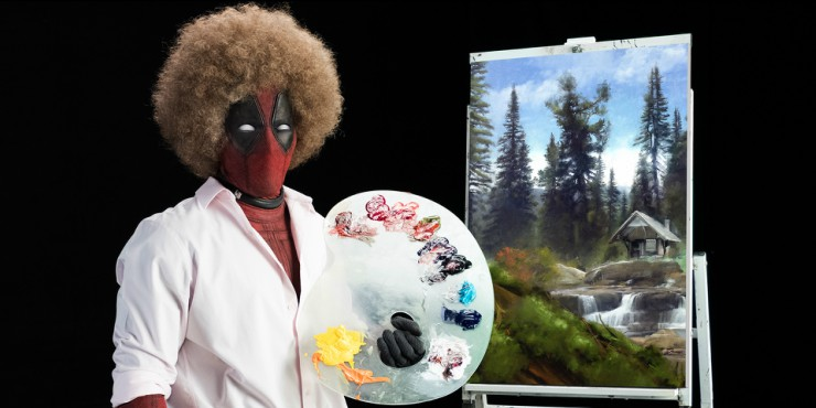 Deadpool Is Getting 'Wet' As Bob Ross In Deadpool 2 First Trailer