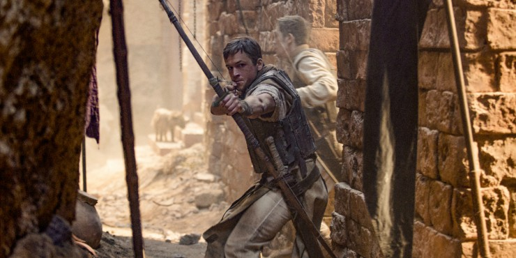 First Look Images For Robin Hood Starring Taron Egerton