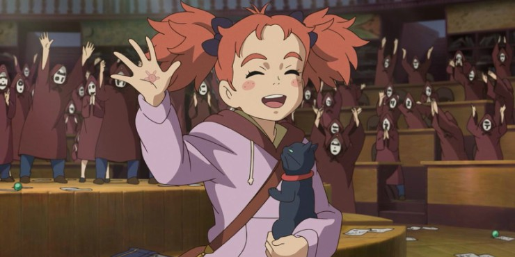 Watch First Clip For  Studio Ponoc's Mary And The Witch's Flower