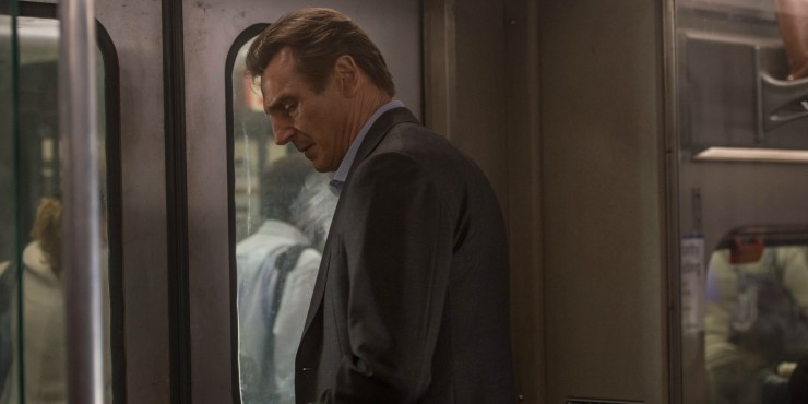Liam Neeson Gets 'Paranoid' In The Commuter Clips