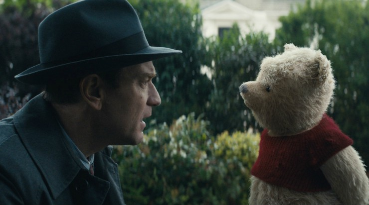 Ewan McGregor Needs A'Pooh' In Christopher Robin First Trailer