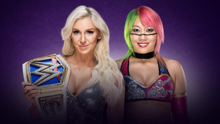 Wrestlemania 34 Preview: Asuka VS Charlotte: WWE Smackdown Live! Women's Championship