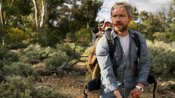 Martin Freeman Looks For A Home For His Girl In Cargo UK Trailer