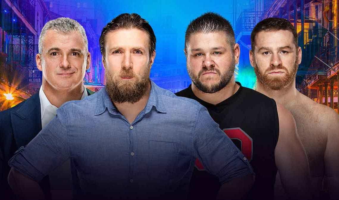 Wrestlemania 34 Preview: Sami Zayn & Kevin Owens VS Daniel Bryan & Shane McMahon