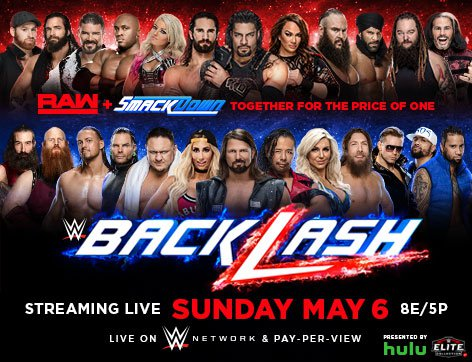 WWE Backlash 2018 Preview