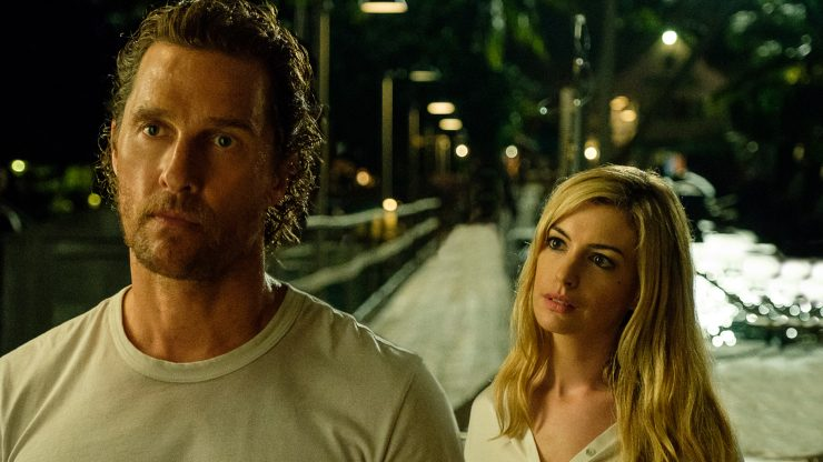 In Serenity Trailer Anne Hathaway Wants Matthew McConaughey To Kill For Her