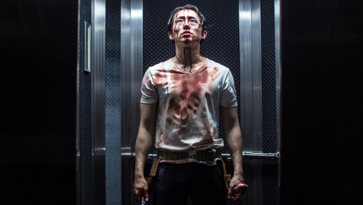 Win Mayhem On DVD Starring Steven Yeun