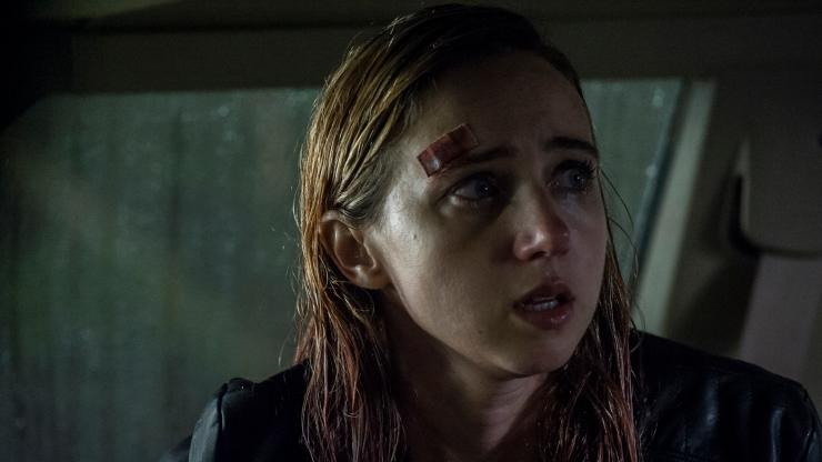 Watch The Claustrophobic UK Trailer For The Monster Starring Zoe Kazan