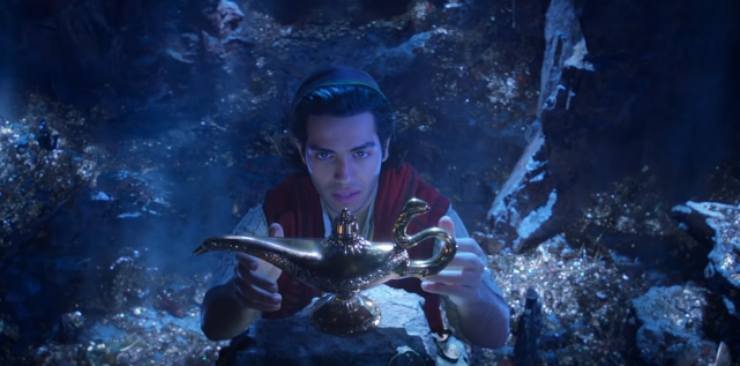 Disney's Live Action Aladdin  First Trailer Is A 'Whole New World'