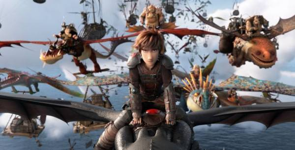 How To Train Your Dragon: The Hidden World soars to Number 1 on the Official Film Chart
