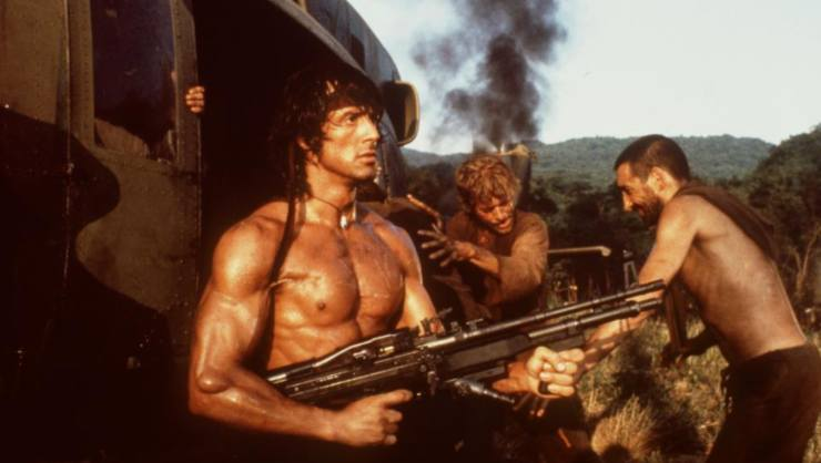 Win Rambo Films And Cliffhanger On 4K Ultra HD Blu-ray - The