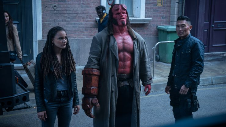 R-Rated Shenanigans As Hellboy First UK Trailer Arrives Online!