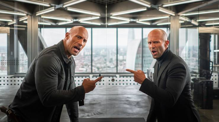 Fast & Furious: Hobbs & Shaw Races Into The Number 1 Spot On Official Film Chart