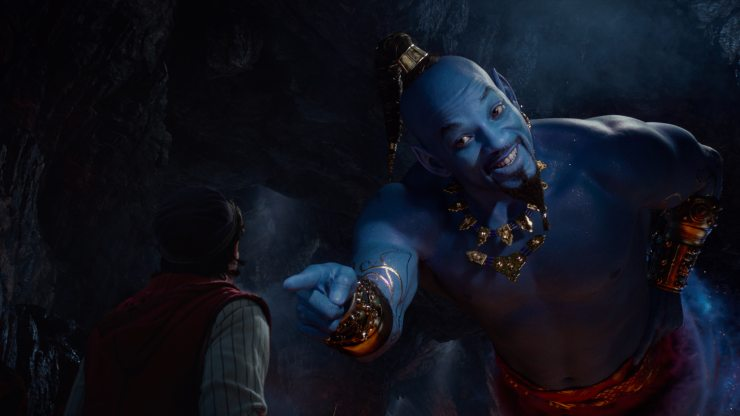 Aladdin Second Trailer Teases Classic Songs And Will Smith Is More Than Blue