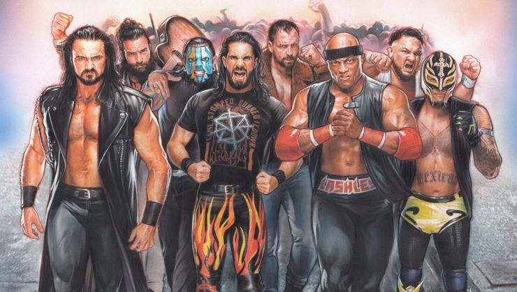 Win WWE Royale Rumble 2019 On Blu-ray