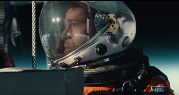 Ad Astra New Poster Brad Pitt Goes 'Interstellar'