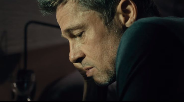 In Ad Astra First Trailer Brad Pitt Seeks Answers In Space
