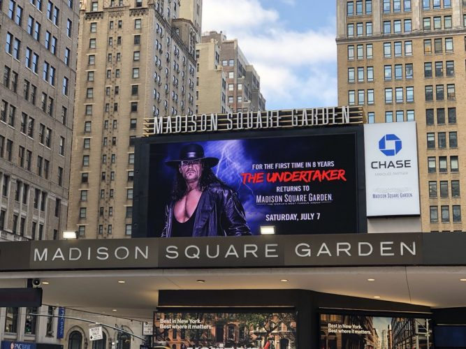 Madison Square Garden Set For WWE TV