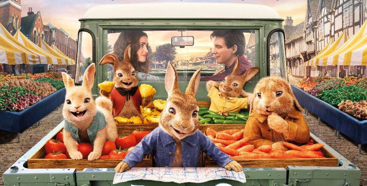 Peter Is On The Run In Peter Rabbit 2