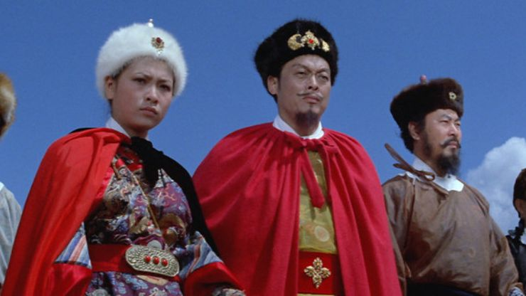 Win Masters Of Cinema FATE OF LEE KHAN On Blu-Ray