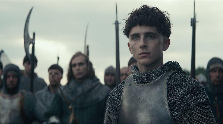 Feel Timothée Chalamet's Burden In The King New Trailer